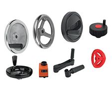 Handwheels, Crank Handles, Position Indicators & Handles